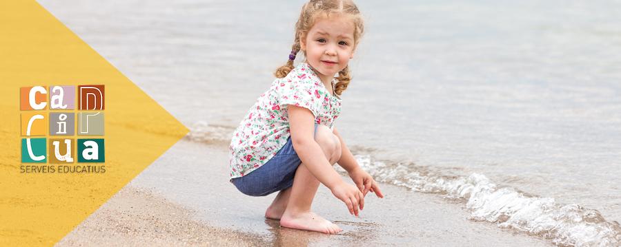 Activitats a la platja per als més petits